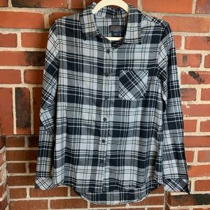 Pendleton 100% Cotton Plaid Flannel Shirt